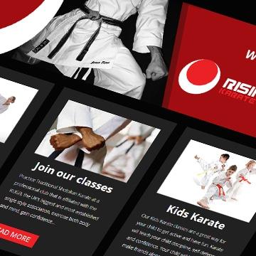 Rising Sun Karate Academy - Baqqa Creative